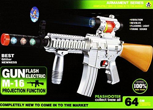 Preisvergleich Produktbild Led Flash Spielzeuggewehr Spielzeug Gewehr XXL (GYD)