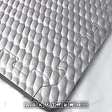 6x Schwarz ineinandergreifende EVA stabile Bodenmatten | 24mm dick | 1m x 1m | Matten geeignet für Pferde, Ponys oder Vieh | EVA Bodenbelag auch geeignet für Gym