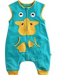 Vaenait baby 1–7años 100% algodón de reposo y Play infantil (Sleepsack Animal