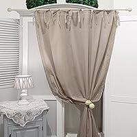 tende cucina shabby chic - Tende a drappeggio ... - Amazon.it
