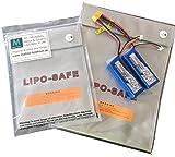 Lipo Tasche 25x33 cm feuerfest Akku Sicherheitstasche Feuer Sicherheit Safe Brandschutztasche Safebag molinoRC
