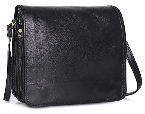 Big Handbag Shop ,  Damen Umhängetaschen Black - Medium Size