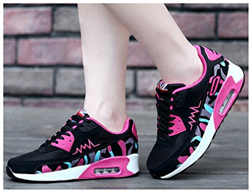 NEWZCERS , Chaussures d'athlétisme pour femme Stieg rot