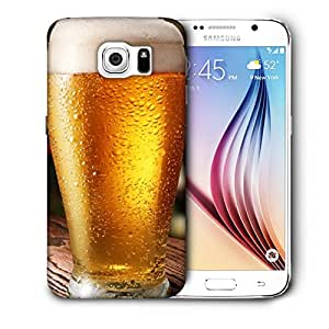 Snoogg Cool Beer Designer Protective Back Case Cover For SAMSUNG GALAXY S6