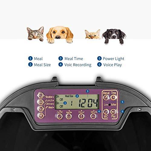 Zoom IMG-1 7l alimentatore automatico pet feeder