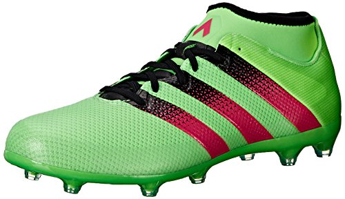 Adidas Performance Ace 16,2 Primemesh Fg / ag Fu�ballschuh, schwarz / Schock Rosa / Schock Grün, 6 Shock Green/Shock Pink/Black