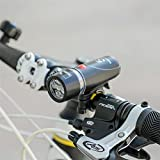 #9: Ultra Bright Cycling Bicycle 5 LEDs Front Head Flashlight & 9 LEDs Back Rear Flash Light Laser Tail Light Bike Lamp Set