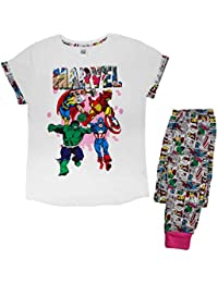 Womens Soft Cotton Full Length Character Pyjamas Pjs Pj's Ladies Xmas Gift Presents Size UK 8 - 22