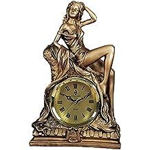 Lihao-zuozhong Reloj Europeo, decoración de la Sala de Estar, Resina, decoración