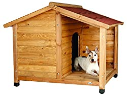 Trixie 39511 natura Hundehütte, M: 100 × 82 × 90 cm