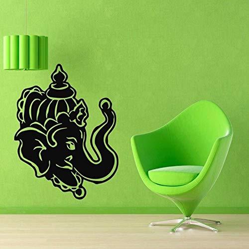 wopiaol Yoga Club Aufkleber Applique Poster Yug Vinyl Yoga Wanddekor Quadro Parede Decor Wandbild Yoga St 58x74cm