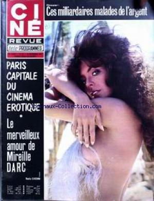 CINE TELE REVUE [No 38] du 19/09/1974 - CES MILLIARDAIRES MALADES DE L'ARGENT. PARIS CAPITALE DU CINEMA EROTIQUE. MIREILLE DARC - NADIA CASSINI - PALOMO LINARES. par COLLECTIF
