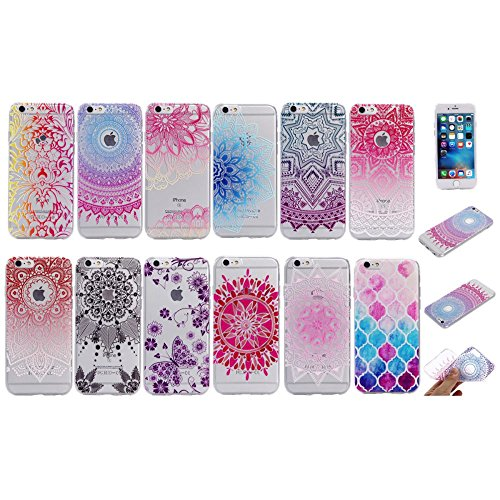 "For IPHONE 6 4.7""[COLORFUL TPU DTV2]Scratch-Proof Ultra Thin Rubber Gel TPU Soft Silicone Bumper Case Cover -DTPUV204 DTPUV211"