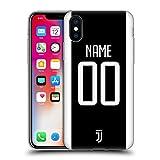Head Case Designs Personalisierte Individuelle Juventus Football Club Home Soft Gel Huelle kompatibel mit iPhone X/iPhone XS