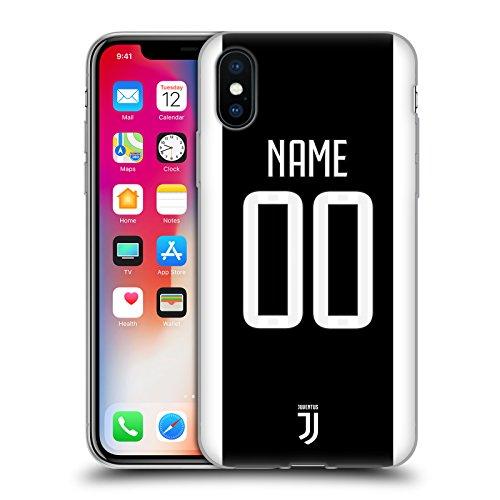 Head case designs personalizzata personale juventus football club in casa cover morbida in gel per iphone x/iphone xs