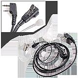 Ecloud Shop PTT Micro Auricular seguridad +micrófono para Kenwood