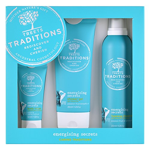Treets Traditions Energising Secrets Gift Set Large, 1er Pack (1 x 3.9 kg) - Energizing Body Gel