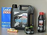Mantenimiento Set BMW HP2Enduro Mega Moto Sport aceite de aceite Bujía Service cardán