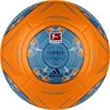 adidas Fussball Torfabrik DFL 2013 Glider orange / blau, Größe:5
