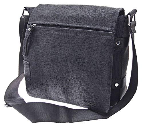 Businestasche Aktentasche Arbeitstasche Schultasche Messenger Bag Herren  Tasche Umhängetasche Damen Messenger Bag Schultertasche (Schwarz) f4a172c809