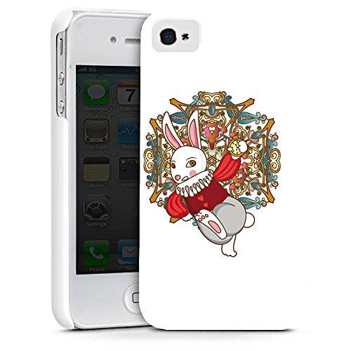 Apple iPhone X Silikon Hülle Case Schutzhülle Hase Bunny Rabbit Premium Case glänzend