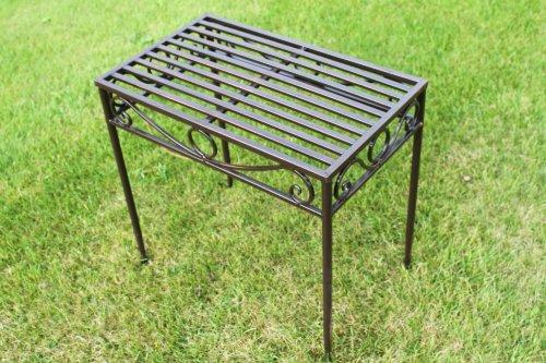 table-dappoint-ou-support-de-plante-metallique-style-versailles-finition-bronze-antique-taille-moyen