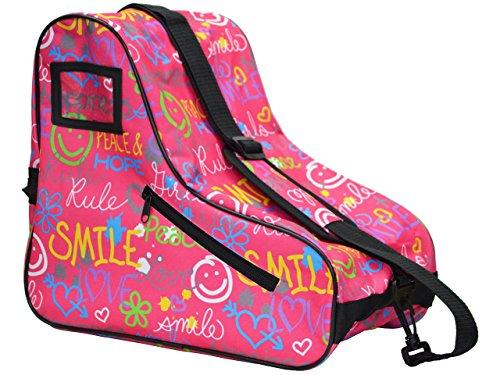 Epic Skates Limited Edition Rollschuhtasche, Einheitsgröße, LESBagGF, Rose, Jugendliche