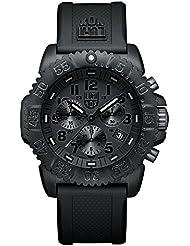 Luminox Navy Seal Colormark 3081.BO - Reloj de caballero de cuarzo, correa de caucho color negro