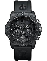 Luminox Navy SEAL Colormark Chronograph XS.3081.BO.1 Reloj de Plásticolsera Cuarzo Hombre correa de Plástico Negro