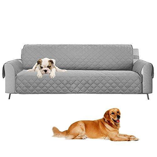 Umiwe copridivano 3 posti impermeabile divano protector mobili coperture su due lati per cani/gatti letto con divano slipcovers 190 x 167cm