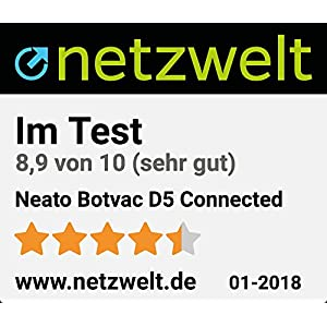 Neato Robotics 945 0239 Botvac D5 Connected Wi Fi