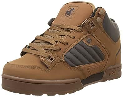 dvs shoes militia boot s skateboarding brown brn
