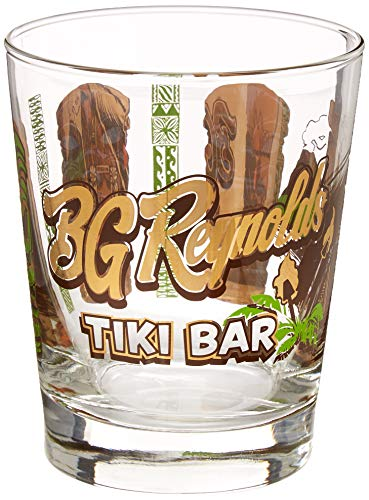 BG Reynolds Tiki Bar Mai Tai Glas - Tiki-trio