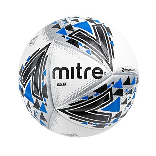 Mitre delta professional football, unisex, delta professional, white/black/blue
