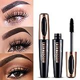 Schwarze Mascara, wasserfeste, lang anhaltende Make-up-Mascara, geeignet für empfindliche Augen 10ml
