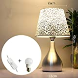 Simple Modern Table Lamp Bedroom Bedside Lamp Creative Romantic Warm Home Touch Dimmable Bedside Counter Light
