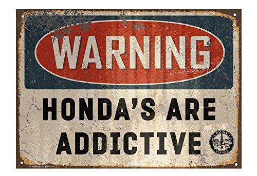 Oily Rag Kleidung Honda sind Süchtig machende Zeichen