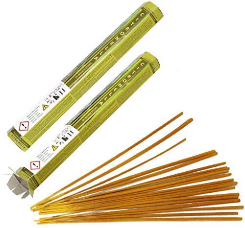 com-four® 40x Citronella Anti Mücken Räucherstäbchen - Eine Alternative zur Zitronella Kerze oder Teelichter (40 Stück - 23 cm) - Citronella Öl, Mückenschutz