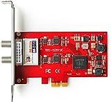 TBS 6281-SE Dual Terrestrial HD Low-profile PCIe TV Tuner Card (DVB-T2)