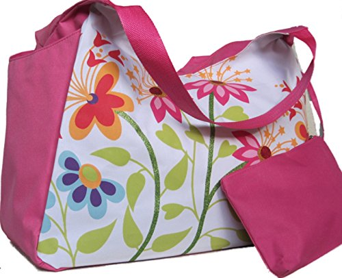 large-beach-bag-pink-with-flowers-h33xw51xd23cm-with-useful-deep-side-pockets-and-internal-purse