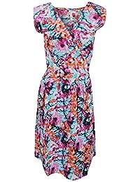 Universal Textiles Womens/Ladies Floral Print Sleeveless Cotton Summer Dress