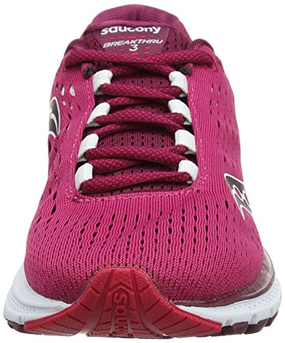Saucony Breakthru 3, Scarpe Running Donna Rosa (Pink/berry)