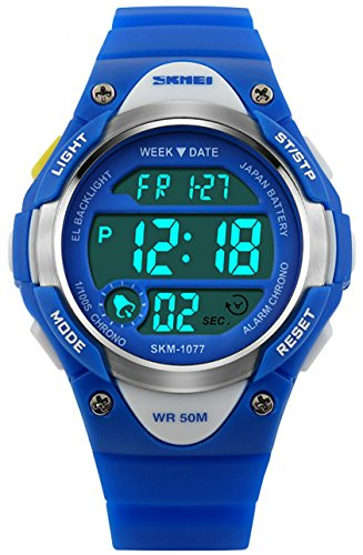 Kids-Boys-Childrens-Girls-Watches-Digital-Sports-Alarm-50M-Waterproof-Timer-Stopwatch-Teenage-Boy-Junior-Watches-Multifunction-Calendar-Date-Chronograph-Wrist-Watch-with-Rubber-Strap