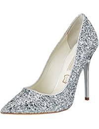 Buffalo London Damen 11335-269 L Glitter Pumps