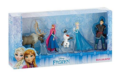 Bullyland 12306 - Frozen Minifigurenset, 5 Figuren - Puppen Alt Fünf Für Jahr