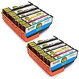Gohepi Ersatz für Epson 33 33XL Druckerpatronen Hohe Kapazität Kompatibel mit Epson Expression Premium XP-640 XP-530 XP-830 XP-635 XP-900 XP-630 XP-540 XP-645