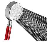 YiyueDer Raum Aluminium Dusche Extra Dusche Bad Dusche Mit Abnehmbaren Duschkopf Generic, Große Zahlen - Rot