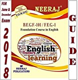 #6: FEG1-Foundation Course in English-1 (IGNOU help book for FEG-1 in English Medium)