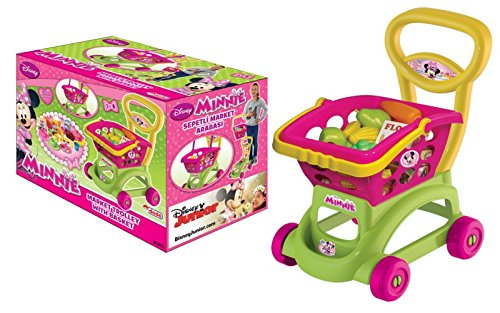 Image of Dede Minnie Mouse Trolley with Removable Shopping Basket