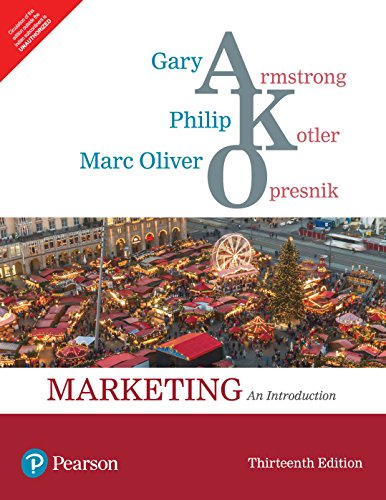 Marketing: An Introduction, 13Th Edn